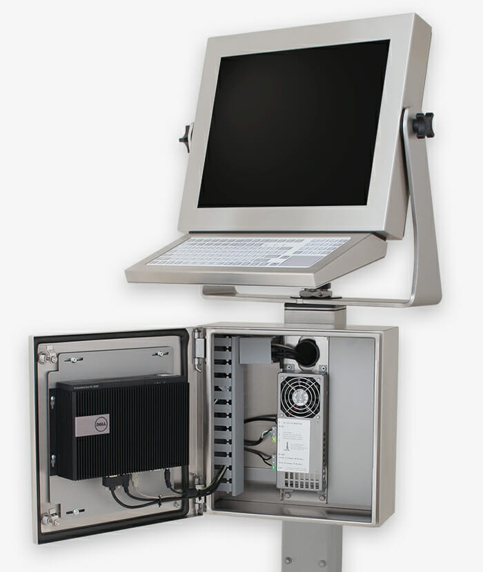 Industrial thin client and small pc enclosures, story