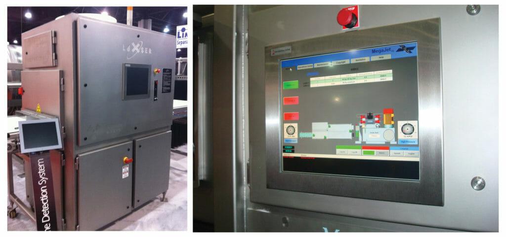 ML19 monitors in various processing machines
